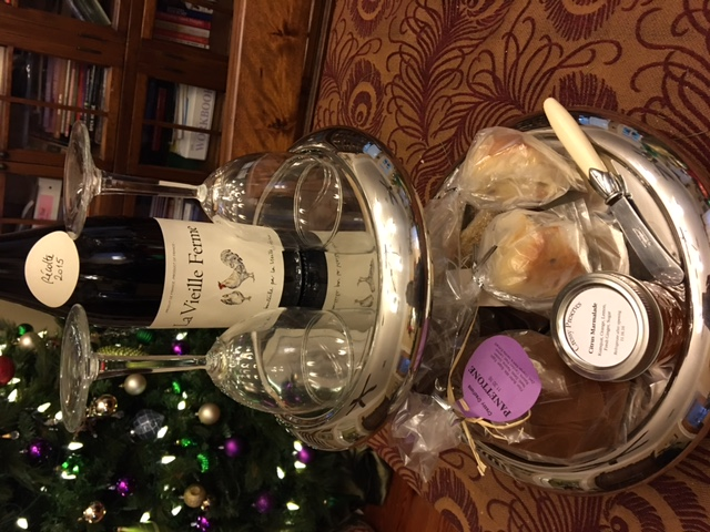CressyHouse_wine and pastries